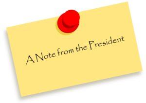 President's note
