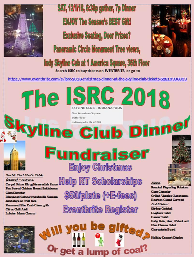 2018 Christmas Dinner at the Skyline Club – Indiana Society